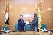 زيارة وفد الجامعة السودانية