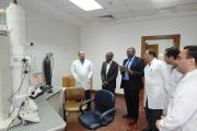 زيارة  مفوض العلوم والتكنولوجيا الأفريقى