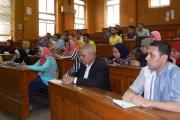 لقاء أ.د. طارق أبو دهب وكيل الكلية لشئون التعليم والطلاب