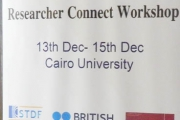 Researcher  Connect Workshop