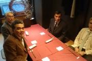 زيارة رئيس الجامعة أ.د. جابر نصار وعميد الكلية أ.د. هانى الشيمى إلى  اليابان